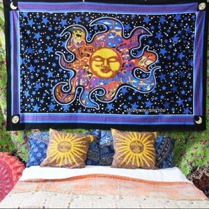 Other - Indian Sleeping Sun Tapestry